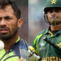 Mohammad Hafeez and Wahab Riaz