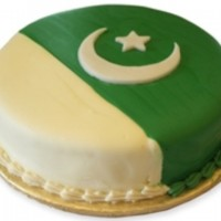 Multan Pakistan Day Cake