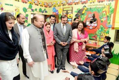 Nawaz Sharif Meet Students