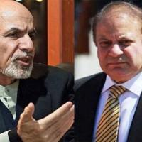 Nawaz Sharif and Afghan President