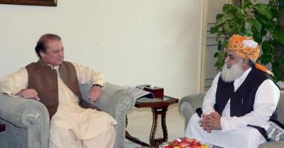 Nawaz Sharif and Fazlur Rehman