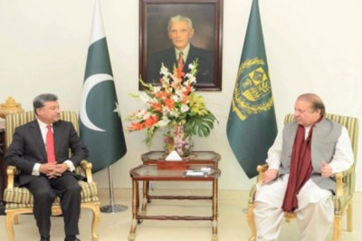 Nawaz Sharif and Mayor Sheikh Ansar Aziz Meet