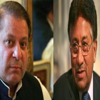 Nawaz Sharif and Pervez Musharraf