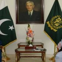 Nawaz Sharif and Sohail Aman Met