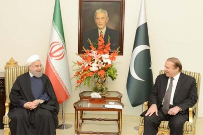Nawaz and Hasan Rouhani