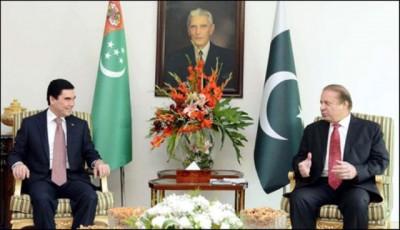 PM Nawaz Sharif- Turk  President