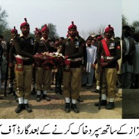 Pak Army Solder Buried