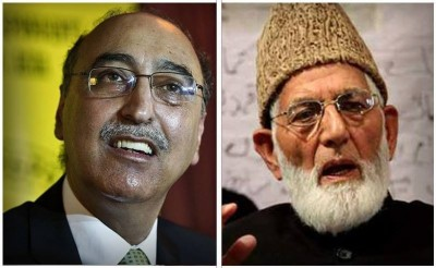 Pakistan High Commissioner and Hurriyat Leaders