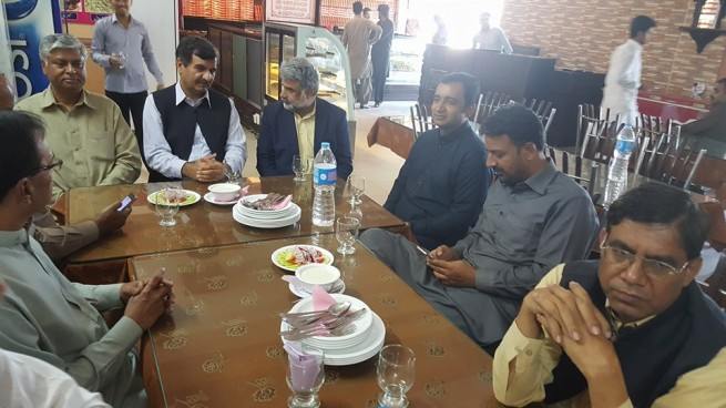 Pakistan People Party Lala Mussaa Lunch