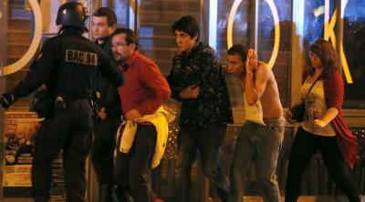 Paris  Injured People