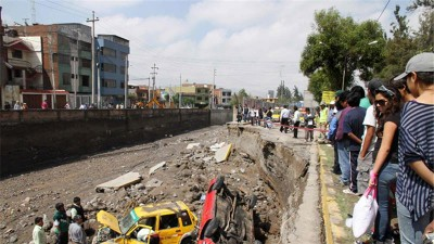 Peru  Landslides