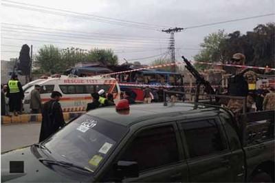 Peshawar Bus Bombing