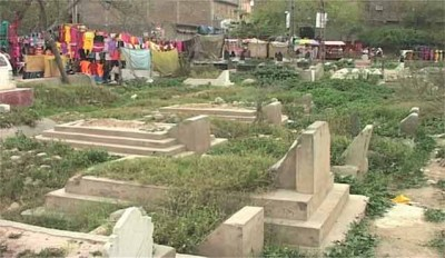 Peshawer Graveyards