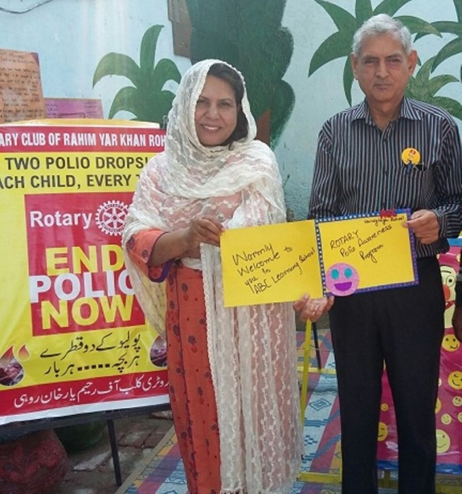 Polio awareness Activity in the campaign