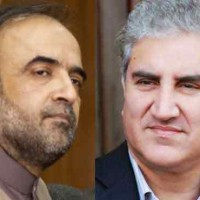 Qamar Zaman Kaira and Shah Mehmood Qureshi