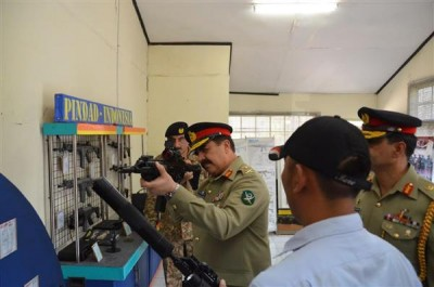 Raheel Sharif Pakistan Ordnance Factory Tour