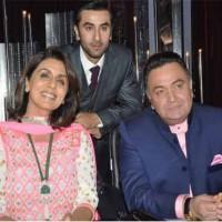 Ranbir Kapoor with Family