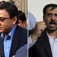 Raza Haroon and Mustafa Kamal