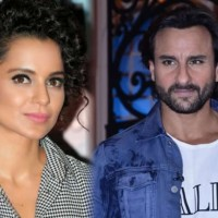 Saif Ali Khan and Kangana Ranaut