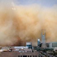 Saudi Arabia Dust Storm