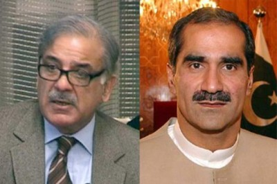 Shahbaz Sharif and Khawaja Saad Rafique