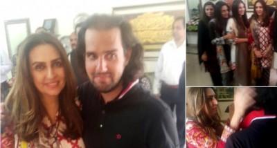 Shahbaz Taseer Family