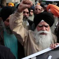 Sikh leaders Demonstrations