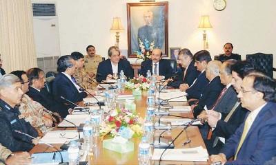 Sindh  Apex Committee Meeting
