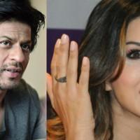 Sunny Leone and Shah Rukh Khan