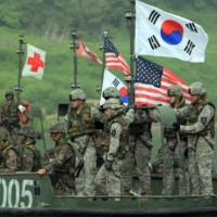 Washington Seoul Between Military Exercises