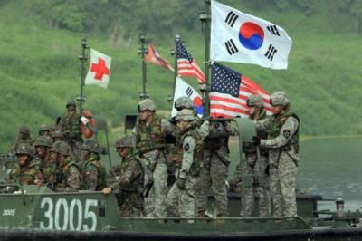 Washington Seoul Between Military Exercises