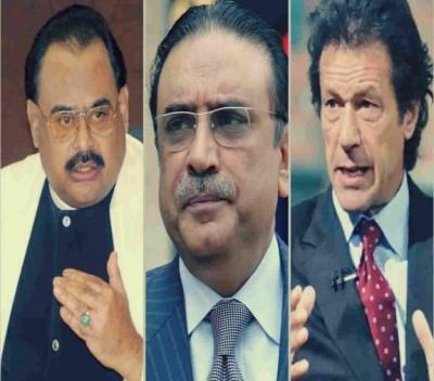Zardari, Altaf and Imran