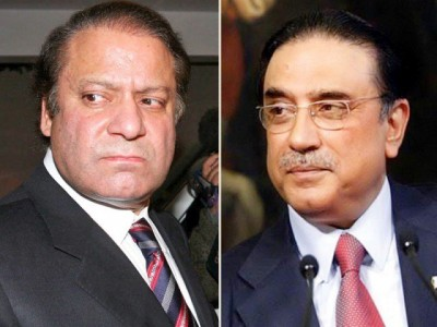 Zardari and Nawaz Sharif