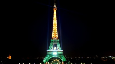 tour eiffel verte - Eiffel Tower - Green