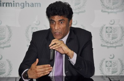 Consulate General of Pakistan Syed Ahmed Maroof
