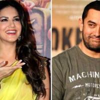 Aamir Khan and Sunny Leone