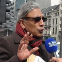 Ali Raza Syed Brussels Protest Thanks