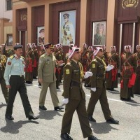 Army Chief in Jordan