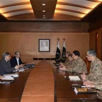 Army Ishaq Dar meeting