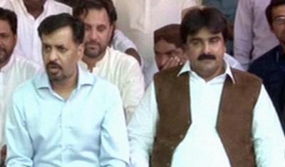 Ashfaq Mangi and Mustafa Kamal