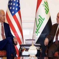Biden and Haider al-Abadi Meeting