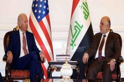 Biden and Haider al-Abadi Meeting