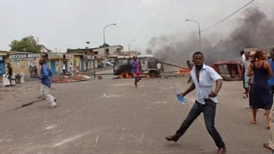 Congo Clashes