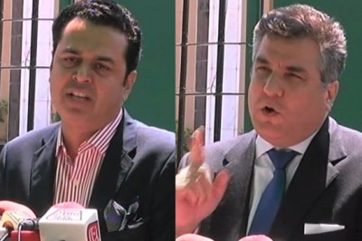 Daniyal Aziz and Talal