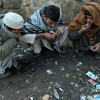 Drugs user in Khyber Pakhtunkhwa