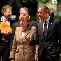 German Chancellor and Obama