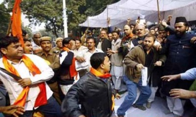 Hindu Extremists Attack Kashmiri Students