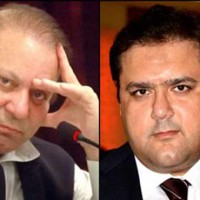 Hussain Nawaz and Nawaz Sharif
