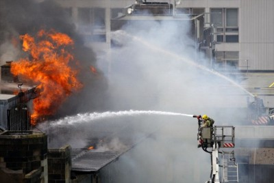 India Museum  Fire