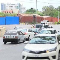Islamabad Containers Barrier